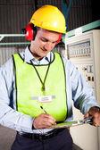 Industrial technician — Stock Photo