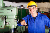 Industrial artisan — Stock Photo
