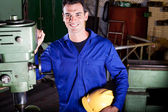 Industrial craftsman — Stock Photo