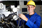 Modern machine operator — Stock Photo