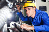 Modern machine operator — Stockfoto