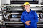 Printing press operator — Stock Photo