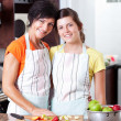 Mother and daughter portrait — Stock Photo #10252329