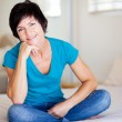 Stock Photo: Middle aged woman