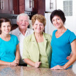 3 generation family — Stock Photo