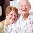 Happy senior couple — Stock Photo #10254315