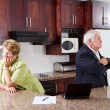 Senior couple divorce — Stock Photo #10255208