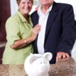 Foto Stock: Retirement savings