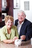 Пенсионные сбережения — Стоковое фото