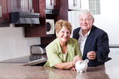 Saving for retirement — Stock Photo