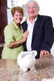 Retirement savings — Stock Photo