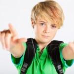 Cool teenage boy — Stock Photo