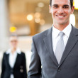 Young businessman portrait — Stock Photo