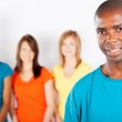 Young african american man — Stock Photo