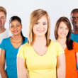 Group of diverse — Stock Photo