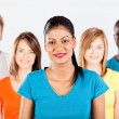 Stock Photo: Group of multiracial