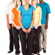 Group of multiracial - Stock Photo