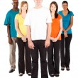 Group of young multicultural — Stock Photo #10423118