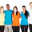 Stock Photo: Group of diverse