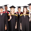 Group of multiracial graduates — Stock Photo #10423224