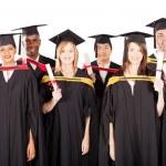 Group of multiracial graduates — Stock Photo #10423224