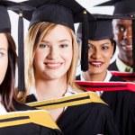 Group of college graduates — Stock Photo #10423231