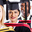 Group of college graduates — Stockfoto