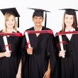 Group of female graduates — Stock Photo