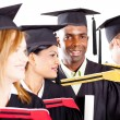 Royalty-Free Stock Photo: Group of diverse graduates at graduation