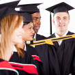 Stock Photo: Group of graduates