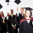Stock Photo: University graduation