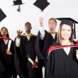 Royalty-Free Stock Photo: University graduation