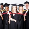 Group of international graduates — Foto de Stock