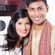 Young indian couple — Stock Photo #10423423