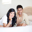 Young indian couple — Stock Photo