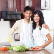Happy indian couple — Stock Photo