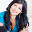 Attractive latin woman — Stock Photo