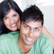 Stock Photo: Lovely young couple
