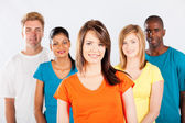Group of multicultural — Stock Photo