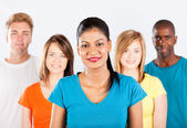Group of multiracial — Stock Photo