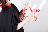Graduation diploma — ストック写真