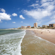 Port Elizabeth beach - Stock Photo
