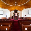 Church interior — Stock Photo