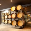 Modern wine cellar - Stock Photo