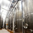 Modern winery - Stock Photo