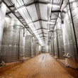 Modern wine factory — Stock Photo