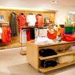 Foto de Stock  : Women's clothing store