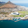Stock Photo: Aerial view of Cape Town