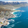 Aerial view of coast of Cape Town — Stock Photo #10469995