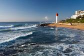 маяк в umhlanga, южная африка — Стоковое фото
